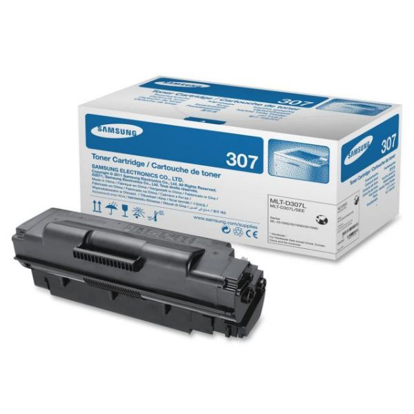 Samsung 307 Black High Yield Toner Cartridge (MLT-D307L)