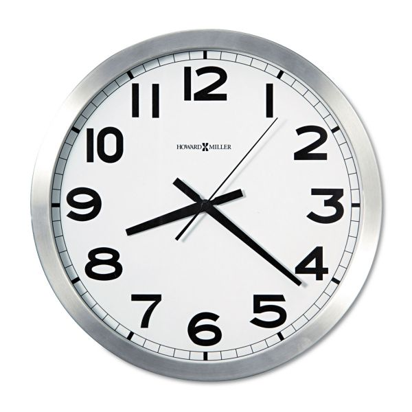 Howard Miller Round Wall Clock, 15-3/4""