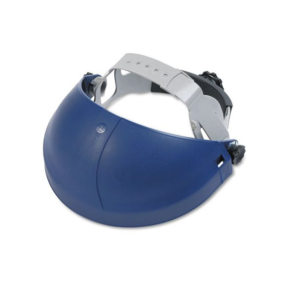 3M Tuffmaster Deluxe Headgear w/Ratchet Adjustment, Blue