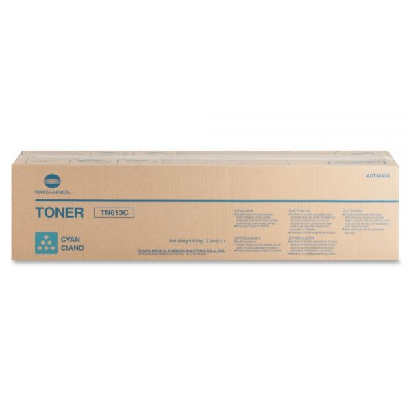 Konica Minolta TN-613C Cyan Toner Cartridge
