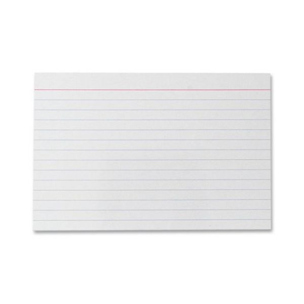 """Sparco 4"""" x 6"""" Ruled Index Cards"""
