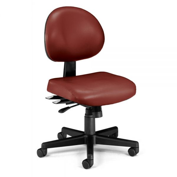 OFM 24-Hour Multi-Adjustable Armless Task Chair