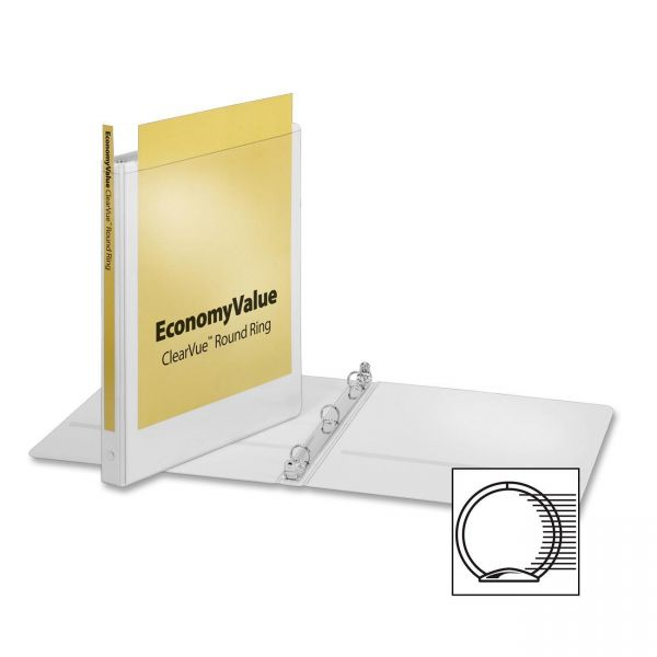 """Cardinal EconomyValue 1/2"""" 3-Ring View Binder"""