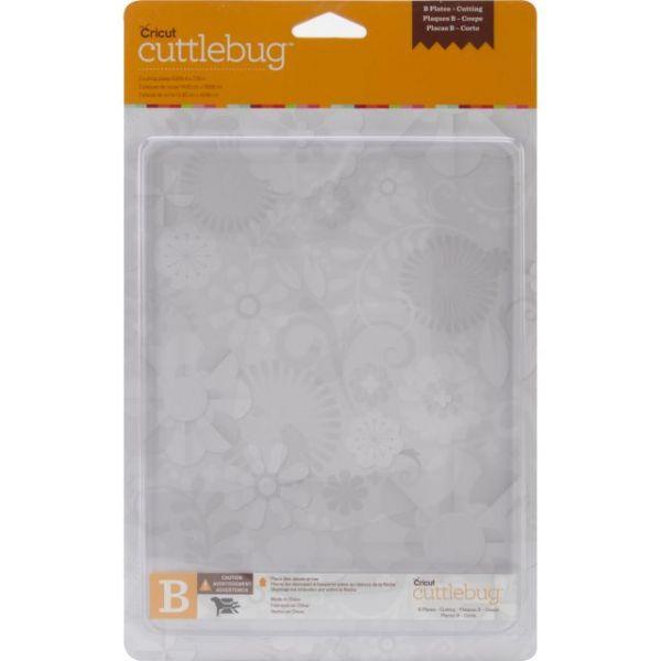"""Cuttlebug Cutting Plate B 6""""X8"""" 2/Pkg"""