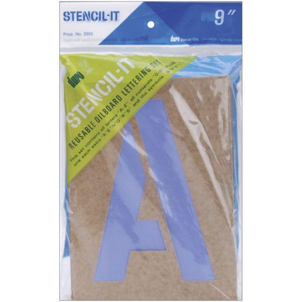 Stencil-It Reusable Lettering Set