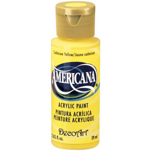 Deco Art Americana Cadmium Yellow Acrylic Paint