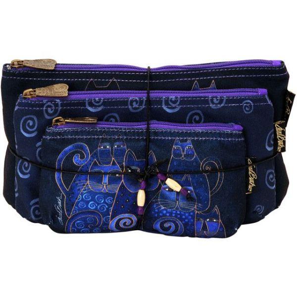 Cosmetic Bags 3/Pkg
