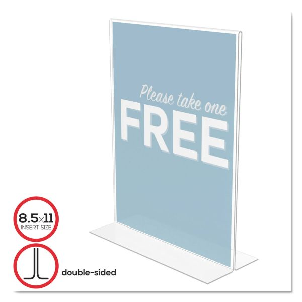 Deflect-o Classic Image Standup Sign Holder