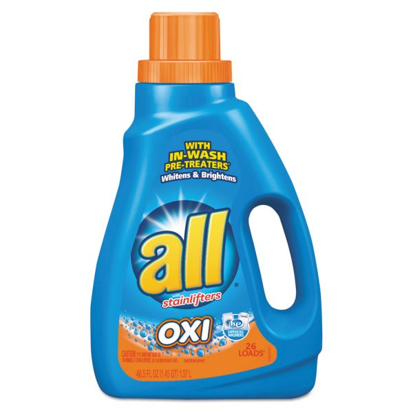 All Ultra Oxi-Active Stainlifter, Musk Scent, 46.5oz Bottle
