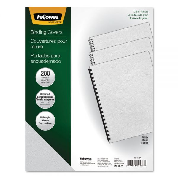 Fellowes Oversized Presentation Binding Covers