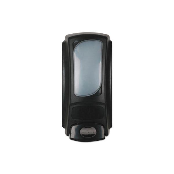 Dial Professional Hand Care Anywhere Flex Bag Dispenser, 15 oz Refills, 4 x 3 1/10 x 7 9/10, Black