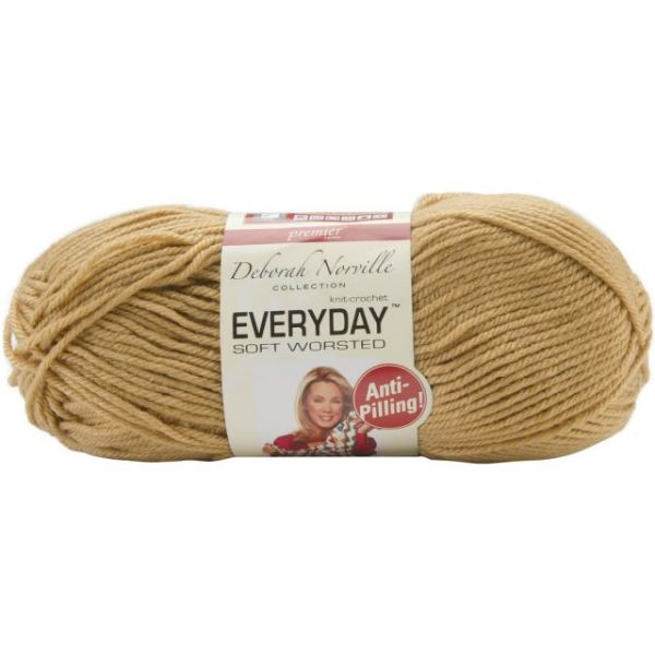 Deborah Norville Collection Everyday Soft Worsted Yarn - Caramel