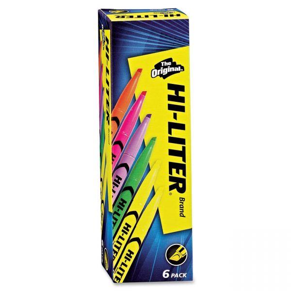 Hi-Liter Pen Style Highlighters