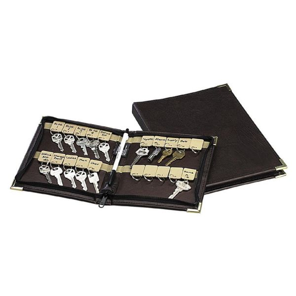 PM Company SecurIT Zippered Carrying Case for Keys