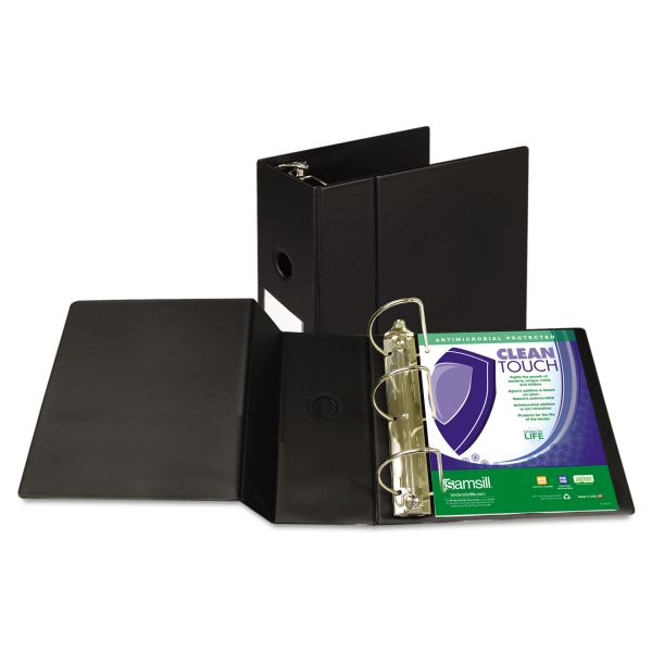 "Samsill Antimicrobial 5"" 3-Ring Binder"