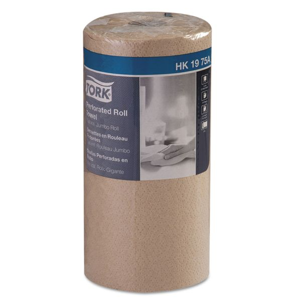 Tork Universal Perforated Paper Towel Roll, 11 x 9, 2-Ply, Natural, 210 Sheets/Roll, 12 Rolls/Carton