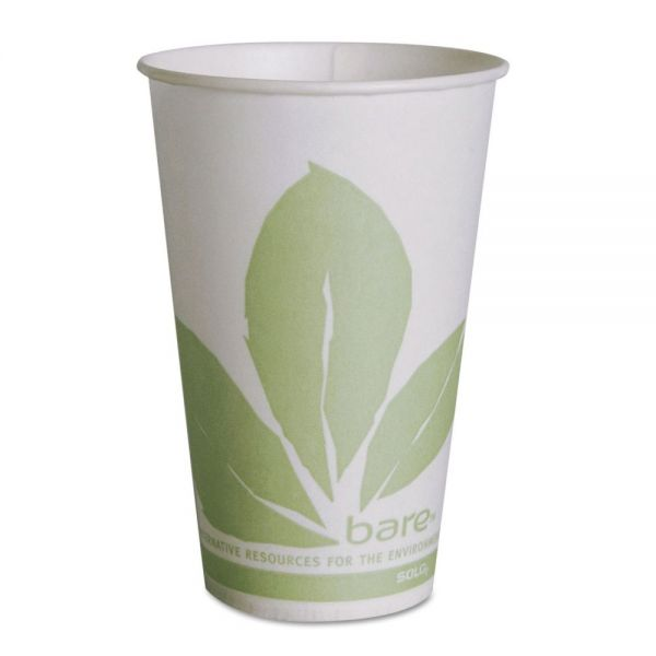 SOLO Eco-Forward 12 oz Paper Cold Cups