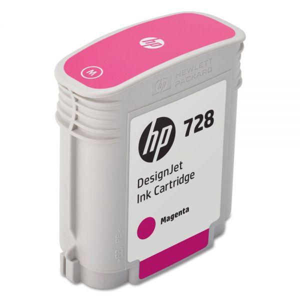 HP 728 Magenta Ink Cartridge (F9J62A)