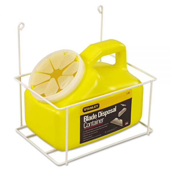 Stanley Tools Blade Disposal Container With Wire Rack, 11-081
