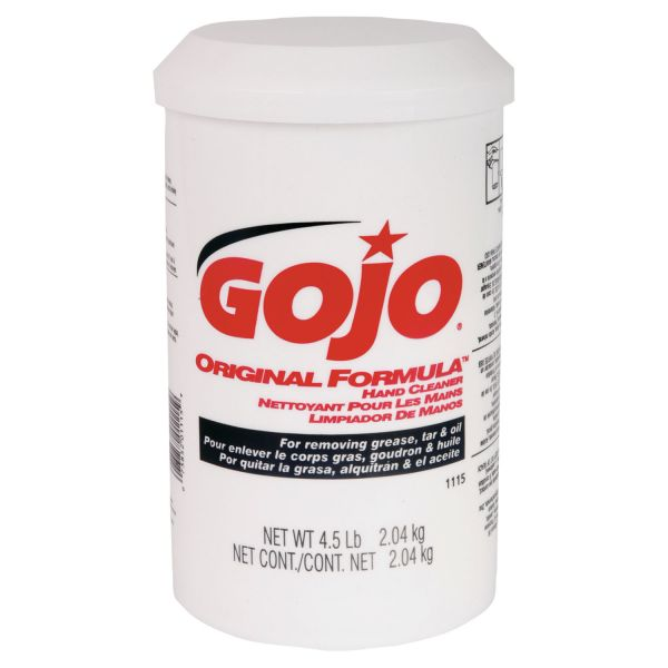 GOJO ORIGINAL FORMULA Hand Cleaner, 4.5lb, White, 6/Carton