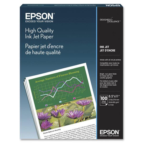 Epson High Quality Inkjet Paper