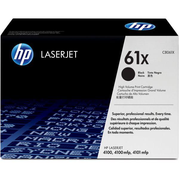 HP 61X Black Toner Cartridge (C8061X)