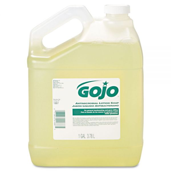 GOJO Antimicrobial Lotion Hand Soap Refill