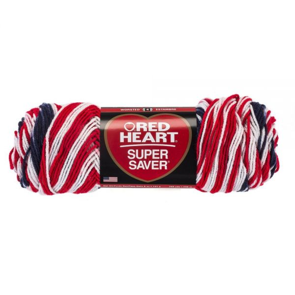 Red Heart Super Saver Yarn - Americana