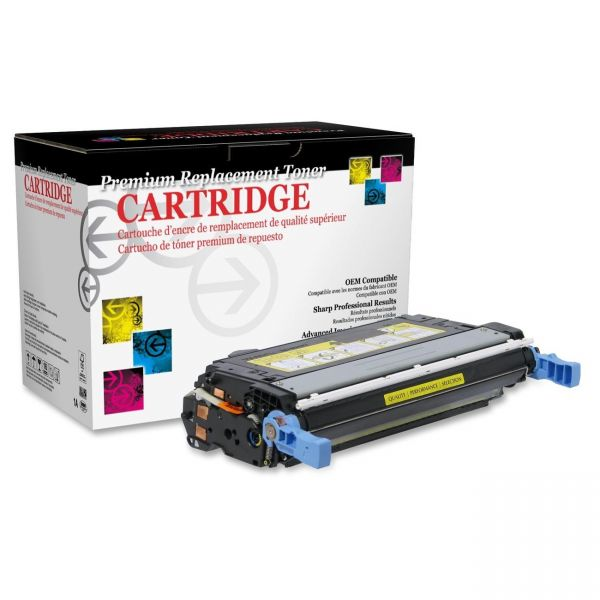 West Point Products Remanufactured HP CB402A Yellow Toner Cartridge
