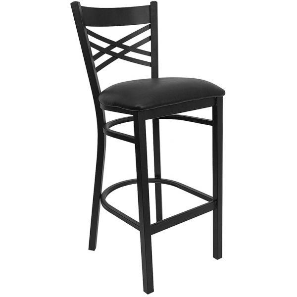 Flash Furniture HERCULES Series ''X'' Back Barstool