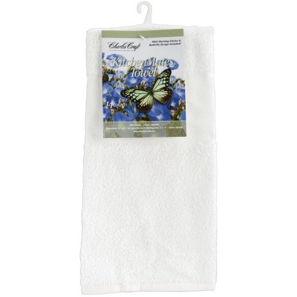 "Kitchen Mates Hemmed Towel 14 Count 15""X25"""
