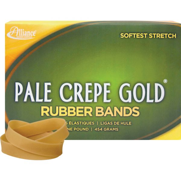Pale Crepe Gold #82 Rubber Bands