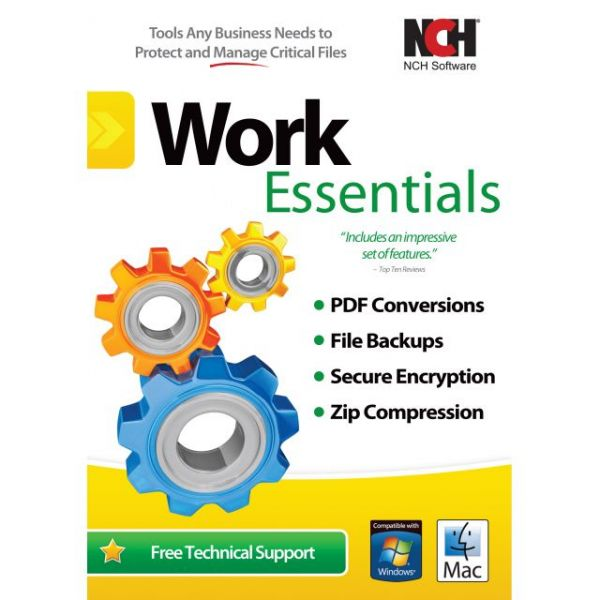 NCH Software Work Essentials