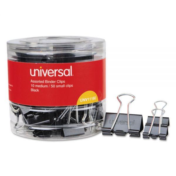 Universal Medium & Small Binder Clips