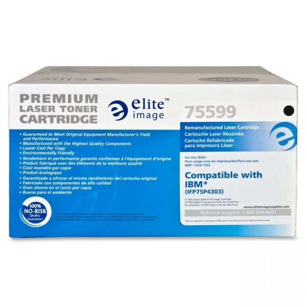 Elite Image Remanufactured InfoPrint 75P4303 Toner Cartridge