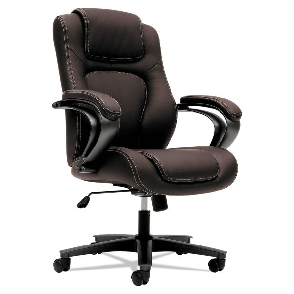 basyx by HON HVL402 Executive High-Back Office Chair
