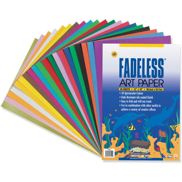 Pacon Fadeless Art Paper