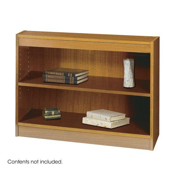 Safco Square-Edge 2-Shelf Bookcase