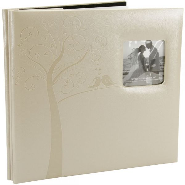 "Embossed Wedding Post Bound Album 12""X12"""