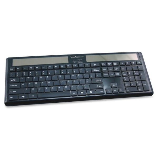 Compucessory Wireless Solar Keyboard