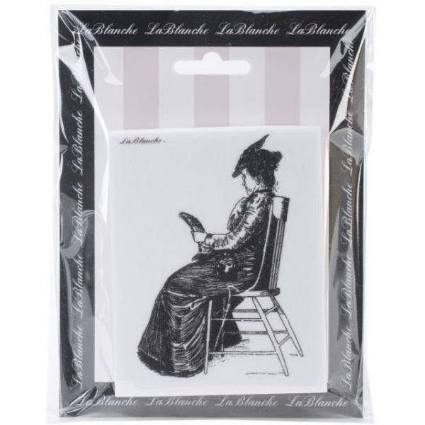"LaBlanche Silicone Stamp 3""X4"""