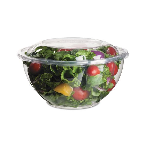Eco-Products Grab'n Go Clear Salad Bowls w/ Lids