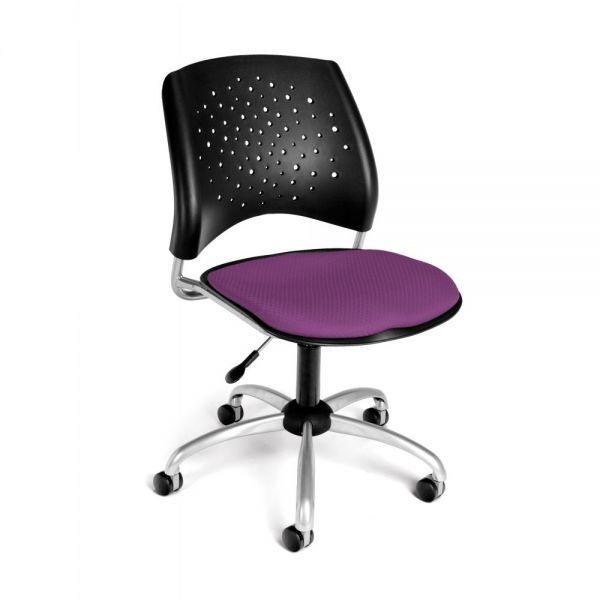 OFM Stars Series Armless Swivel Chair