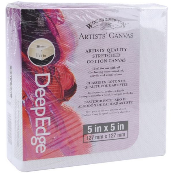 Artists' Quality Deep Edge Stretched Canvas