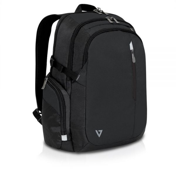 "V7 Elite CCBPX1-9N Carrying Case (Backpack) for 16"", iPad, Tablet, iPad Air, Notebook - Black"