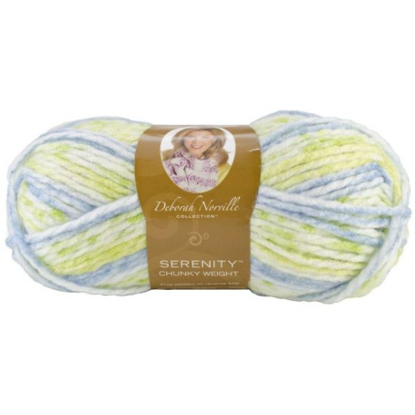 Deborah Norville Collection Serenity Chunky Yarn - Pond