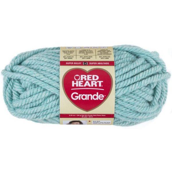 Red Heart Grande Yarn - Wintergreen