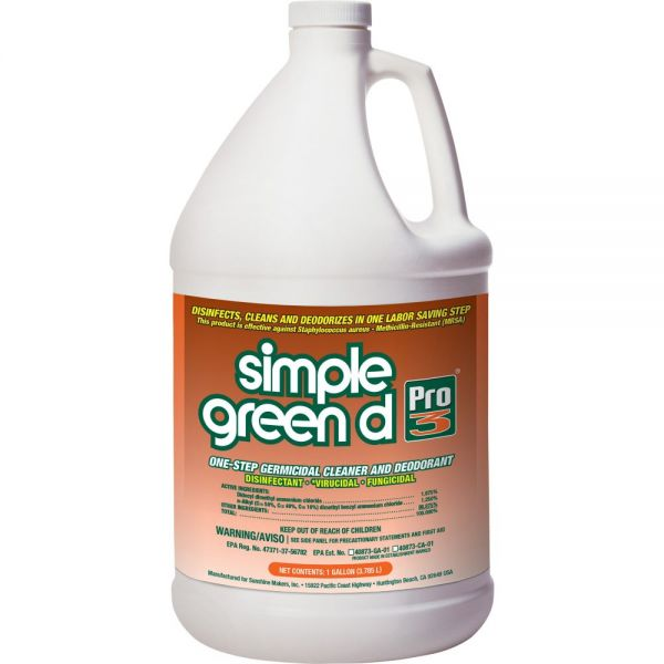 Simple Green d Pro 3 One-Step Germicidal Cleaner & Deodorant