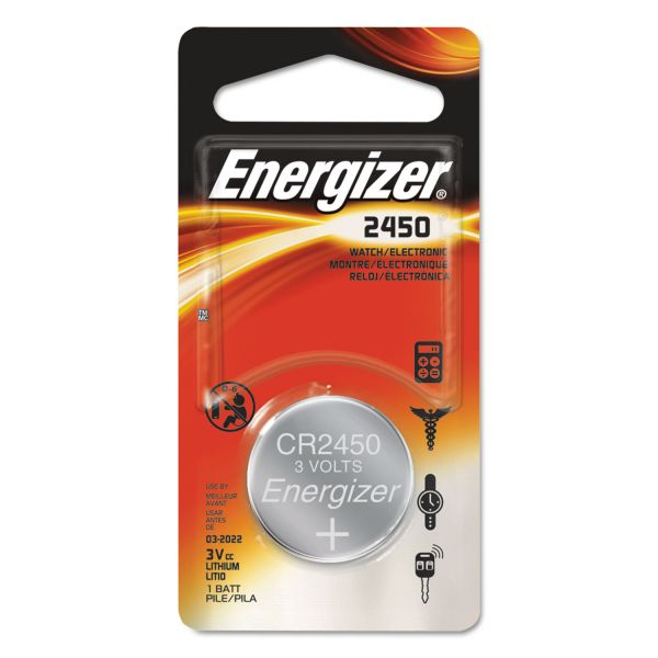 Energizer 2450 Watch/Electronic Battery