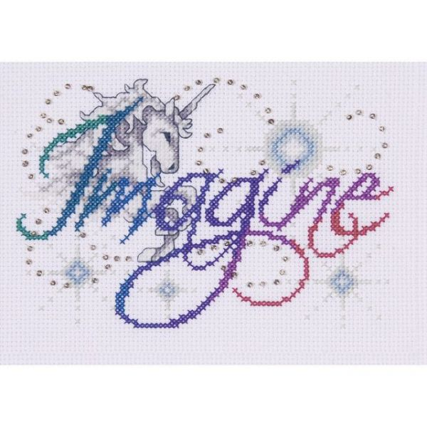 Imagine Counted Cross Stitch Kit